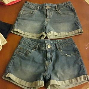Pants - sz 4 jean shorts